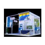 Exhibition Booth Displays With Graphic , Truss Trade Show Display System