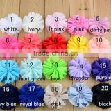 7cm Chiffon Flowers,Fabric Flowers For Headbands,Kids Hair Accessories Ballerina Flowers