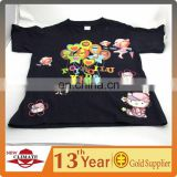 Promotional top quality 100% cotton t-shirts