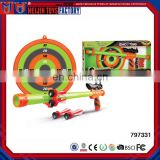 hot Kids Shooting Set Air Blow Gun Toy With Target for sale