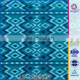 New Knit Tricot Ripstop Mexican Print Fabric