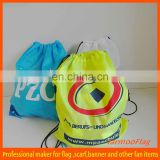 cheap full color reflective drawstring bags