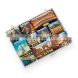 Cheap various fridge magnet set, epoxy coating fridge magnet