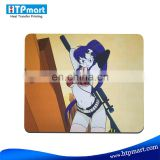 Sublimation rubber mouse pad for heat transfer press