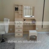 Modern dressing table with mirrors designs