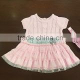 New Fashion pink Sweater pink dress Designs for girl baby
