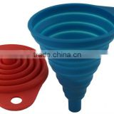 Awesome Collapsible Silicone Small Kitchen Funnel Set                                                                         Quality Choice