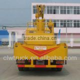 Factory Supply Dongfeng hydraulic lift platform truck 145 truck mounted platform in Peru