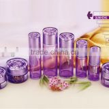 top sale brand cosmetics glass bottle,colored cream jars