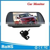 "Stable performance 7""car tft lcd monitor with reverse camera and two way video input"