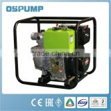 high volume diesel engine driven industrial water dewatering pump