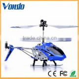 Remote control helicopter , Mini 3 Channel Metal Helicopter for kid's toys