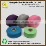 Bulk production with low price 70% polyester 30% cotton high tenacity twist yarn cotton recycled yarn for carpet ne10s/1