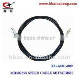 Auto parts speed cable for MITSUBISH