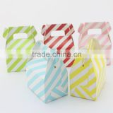 Romantic Wedding Gift Box lovely Rainbow colors Decoration polka dot Party Sweet Favors Guest Gift Wedding Paper Candy Box
