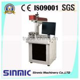Metals/Plastic/Rubber/Wood/ABS/PVC/PES/Steel/Titanium/Copper portable laser fiber marking machine