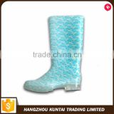 Custom cheap wholesale rain boot woman