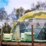 Geometric dome big steel event dome tent luxury outdoor zelte 6x6m winter tent bedouin tent with factory price