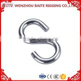 Factory Price Stainless Steel AISI 316 304 Hot Sale Various Metal S Shaped Closing Hanger Hooks