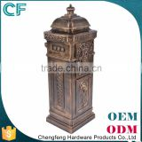 The Most Popular Style In Europe Wholesale Price 100% Raw Material Free Standing Large Post Boxes For Sale From China