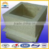 glass furnace bottom big block for mini glass tempering furnace
