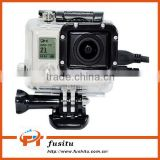 Skeleton Protective Housing Case With Lens Side-opening For AV,USB, HDMI Cable For GoPro Hero 3