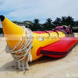CE Certification and PVC Hull Material Inflatable Banana Boat                                                                                                         Supplier's Choice