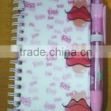 promotional 3D lenticular notepad and pen set