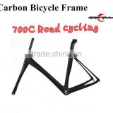 High-end 700c road bike frame BSA/BB30/PF30 v-brake cyclocross carbon frame Supplier's Choice