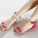 Custom manufacturered china wholesale flat fancy sandals
