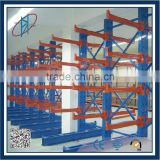 single sided cantilever rack with adjustable steel shelf heavy duty raw material storage cantilever rack