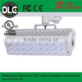 Solar module led 60w 50w led wall light track light wide outdoor decorative wall light led spotlight