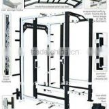 commercial fitness equipment body building machine/collegiate rack/rugby team training sled machine