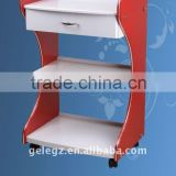 Beauty handcart for hair&beauty salon or barbershop/ beauty trolley