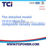 The detailed model parameters for composite railway insulator(1)