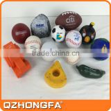 car shape stress ball, rugby custom pu anti stress ball                                                                         Quality Choice