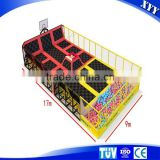 2015 Hot sale commercial trampoline park outdoor