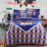 Bear wholesale bright color comforter sets bedding of complete cotton and good quality bedding bedding set kid bedding set