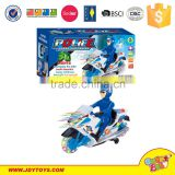 360 rotating kid plastic racing battery operated motorcycle toy