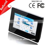 "7"" tft lcd 800x480 industrial resistive light source hmi touch screen"