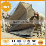 Flood barrier welded boxes / Military Bastion / military barrier military hesco barrier system