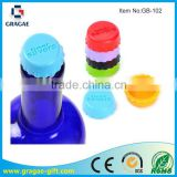 Colorful Silicone Bottle Stopper And Bottle Cap;Silicone Beer savers