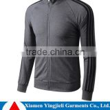 Sports tracksuit for men Grey color top black pant ,wholesale sportwear,new design track suit