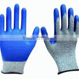 HPPE Nitrile Cut and Chemical Resistant Gloves