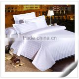 Professional Hotel Textiles Supplier 250TC Cotton Stripe Bedding Hotel Collection                                                                         Quality Choice