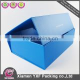 Custom colorful printed paper packing box wholesale/rigid set up box packaging/cardboard box