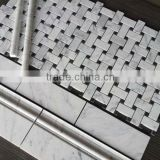 fashion moroccan mosaic tile, natural stone mosaic, Italian tile white marble mosaic tile molds, Italy bianco carrara marble