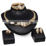 Dubai Made in China AAA CZ Earring Jewellery Costume African Gold Jewelry Sets