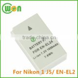 High Capacity 3.7V 1050mAh Replacement Battery for Nikon EN-EL24, Battery for Nikon 1 J5 Digital Camera