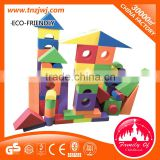 Manufacturrt indoor soft play area with PVC marterial for kids